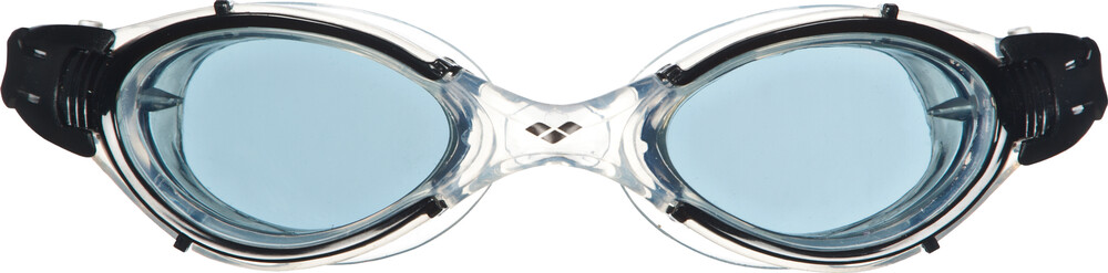 arena Nimesis Crystal Medium - Lunettes de natation - blanc/noir 2018 Lunettes de natation umnIeAqI